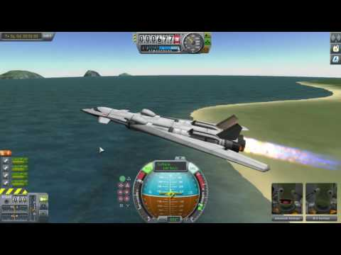 Kerbal Space Program - Air Speed Record Challenge!!!