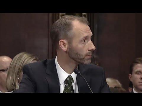 Trump judicial nominee struggles in Senate hearing