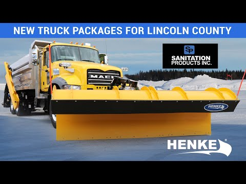 Lincoln County South Dakota Truck Packages From Henke And Sanitation Products