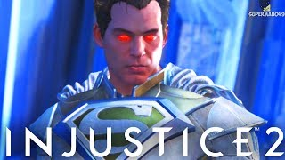 "Injustice 2: Superman Breakdown! Combos, Setups & More - Injustice 2 ""Superman"" Gameplay"