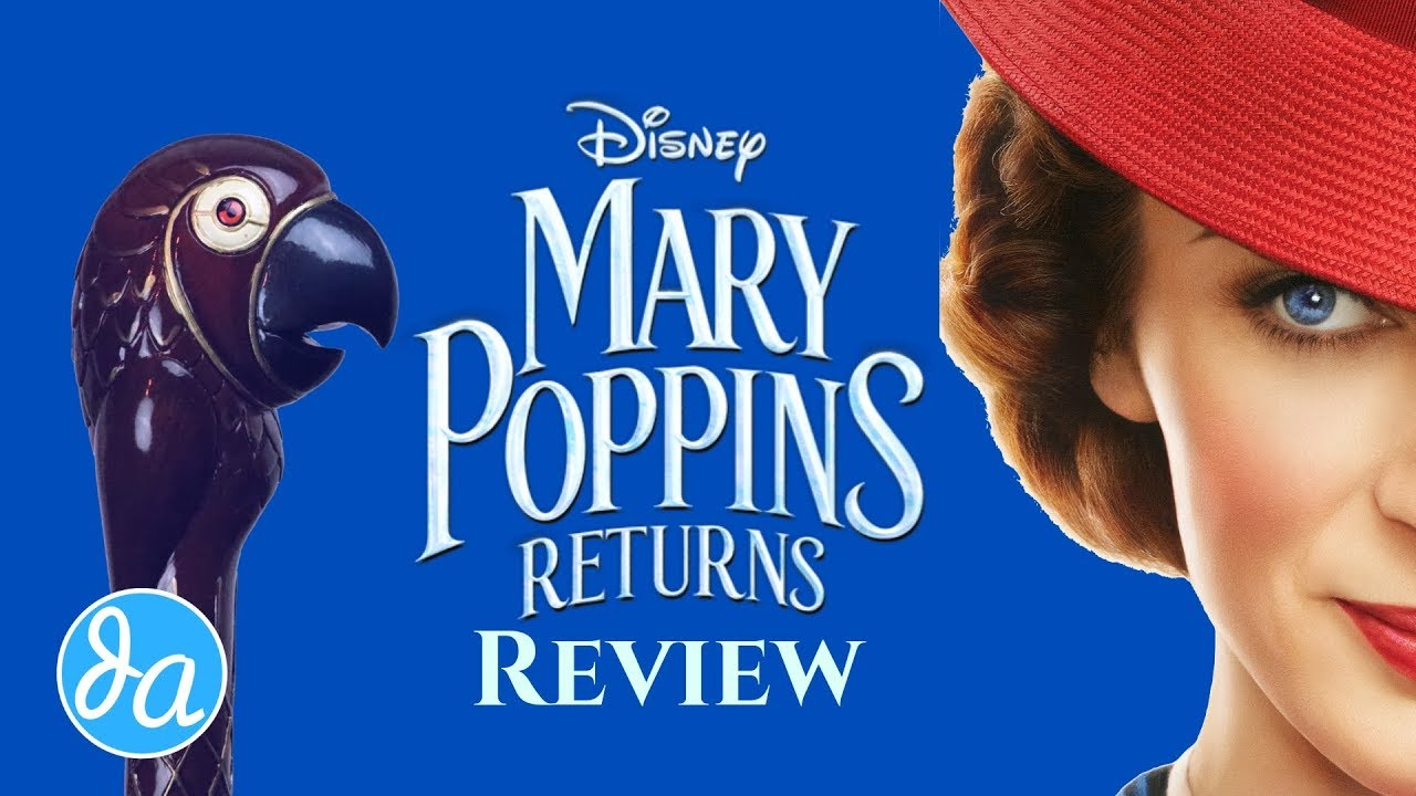 Review Mary Poppins Returns Umbrella Movie Youtube