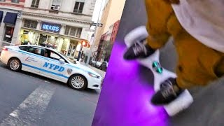 NYPD on Hoverboards?