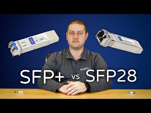 SFP+ vs. SFP28 Transceivers: Explaining the Differences