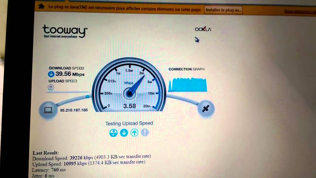 how to know mbps of internet