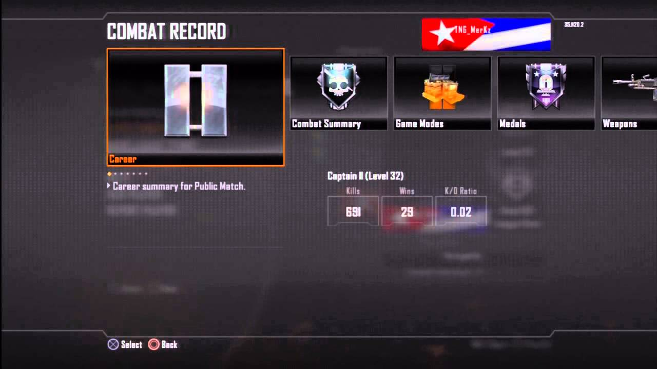 Lowest Kd In Black Ops 2 Ever YouTube