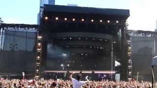 1080P EPIC BASS DROP!!! Kill The Noise Lollapalooza 2013 Chicago Crowd