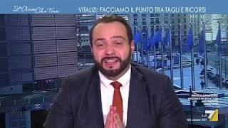 """Fabio Massimo Castaldo, ospie a """"L'Aria che tira"""", La7"""