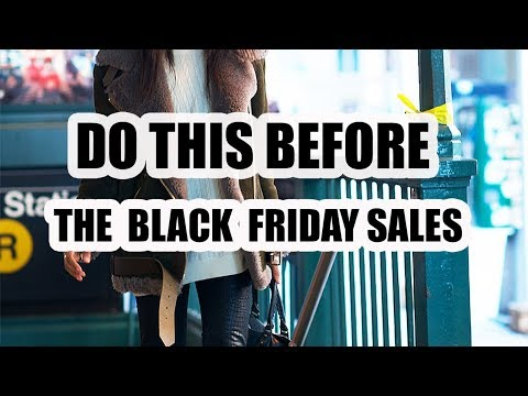 6 BLACK FRIDAY SHOPPING TIPS YOU NEED
