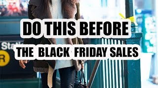 6 BLACK FRIDAY SHOPPING TIPS TO STEAL