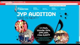Como aplicar na audição da JYP Entertainment