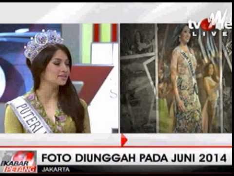 puteri indonesia pake kaos identik dengan lambang pki palu