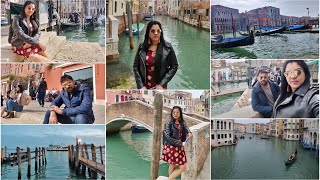 #VLOG FIRST TIME VERE COUNTRY LO UNNATLU ANIPINCHIDNHI | VENICE DAY 2 | MADHUSHIKA VLOGS