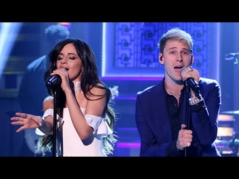 Camila Cabello & MGK Perform