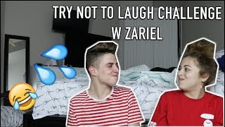 TRY NOT TO LAUGH CHALLENGE ft. ZARIEL | Zach Clayton