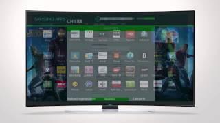 Instrukcja logowania i aktywacji kodu CHILI na Samsung Smart TV