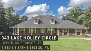 343 Lake Holley Circle