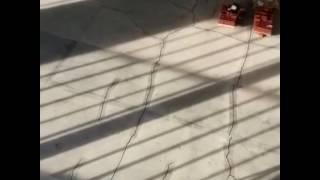 видео Ремонт промышленных полов