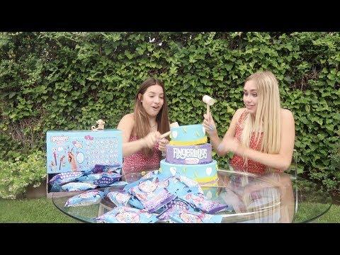 CAKE SMASHING FUN  With Emily Skinner & Fingerlings Minis!