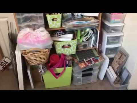 Craft Room Challenge - End of Week 3 - Storing Punches and Craft Supplies