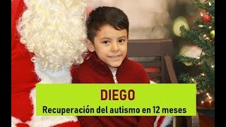 DIEGO, testimonio de recuperación de autismo (TEA)