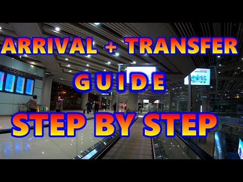 ARRIVING AT BEIJING AIRPORT 2019 - Where to go? How to transfer? All you have to know