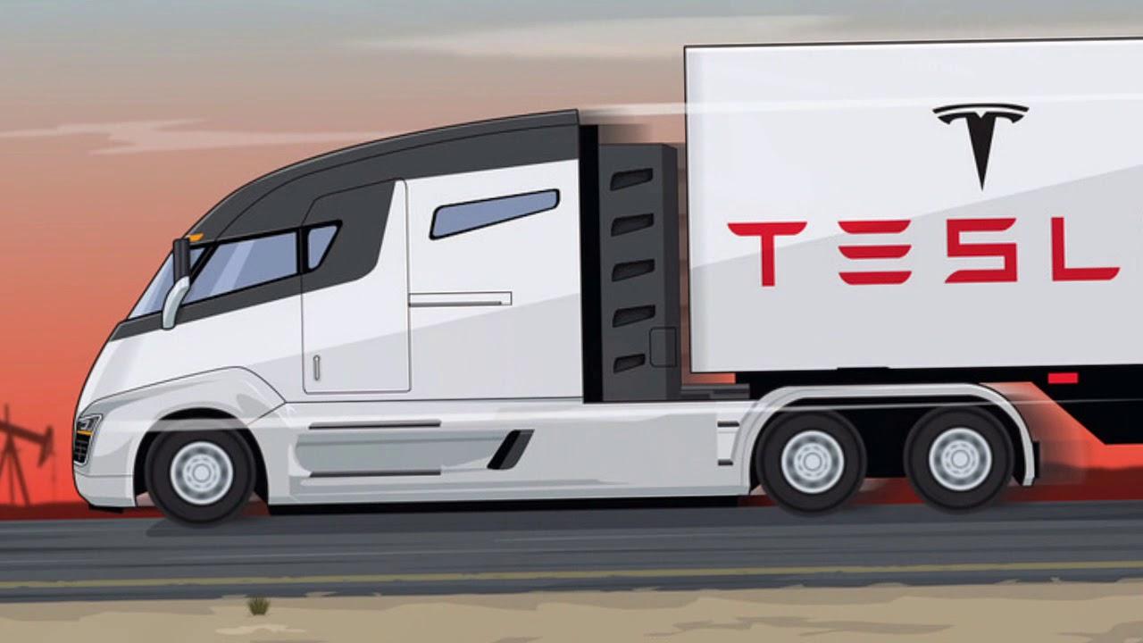 Awesome Tesla Semi Truck Inside