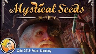 Mystical Seeds — game overview at SPIEL '18