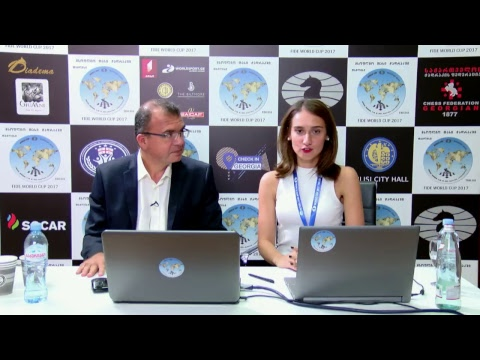 FIDE World Chess Cup 2017 Round 3 Game 1