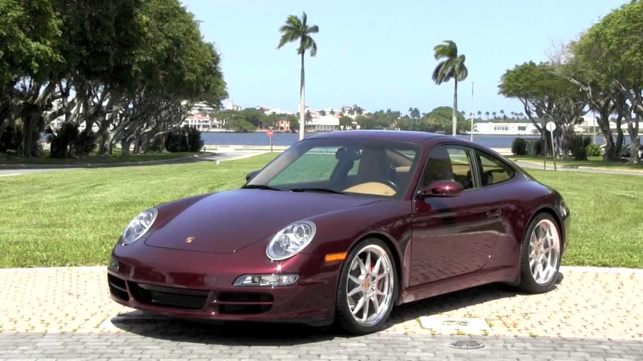 2007 Porsche 911 Carrera S 997 Carmona Red Metallic