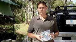 How To setup a Bushranger Portable Gas Hot Water Shower with Darren Hellmund
