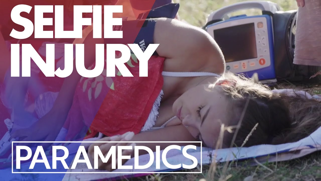 Download Girl falls off cliff when taking a selfie   Paramedics 2020