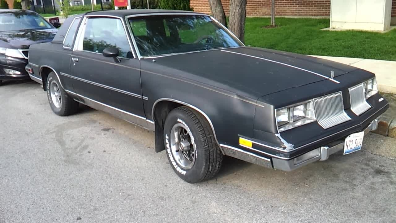1986 cutlass supreme for sale or trade locally youtube