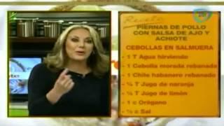 ¿cómo Preparar Piernas De Pollo Con Salsa De Ajo Y Achiote? / Chicken With Garlic Sauce