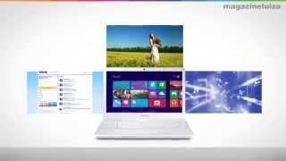 """Notebook Samsung Ativ Book 2 com Intel"""" Core i3 - 4GB 500GB (082201600)"""