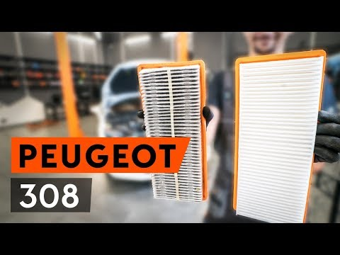 How to replace air filter on PEUGEOT 308 1 T7 (4A_, 4C_) [TUTORIAL AUTODOC]