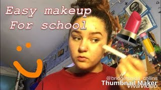 How to do makeup for back to school (simple+easy)