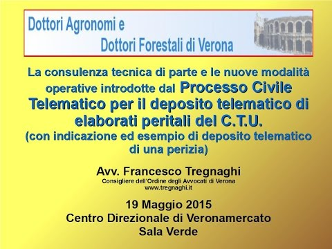 Deposito telematico della CTU - www.tregnaghi.it