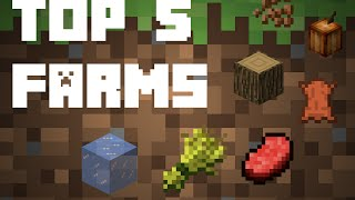 Top 5 Farms | Minecraft