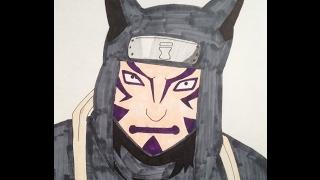 Drawing Kankuro (Naruto)