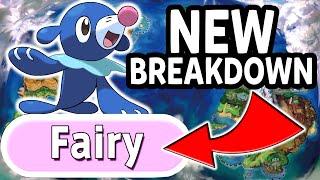 NEW TRAILER BREAKDOWN! - Popplio is FAIRY TYPE?! - Pokemon Sun and Moon