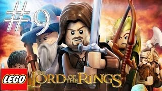 Lego the lord of the rings - Walkthrough Part 9 Track Hobbits