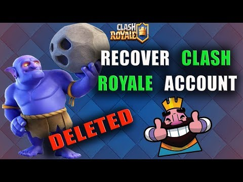 How To Recover Clash Royale Account Without Gmail | Get Back Lost Clash Royale Account |