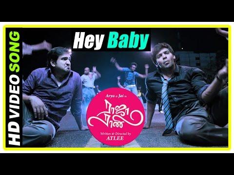 Raja Rani Tamil Movie Songs | Hey Baby Song | Arya Insults Nayanthara's Friend | Santhanam