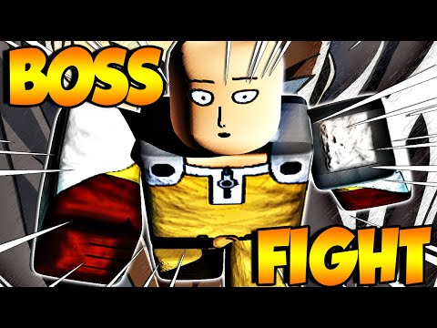 Roblox One Punch Man Online Defeating Saitama The Strongest Boss In One Punch Man Destiny With 3 Deities Roblox Builderboy Tv Let S Play Index