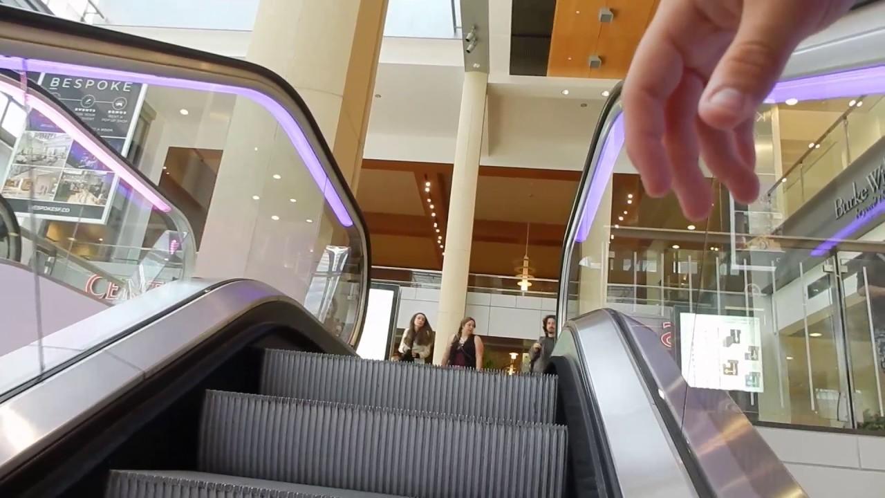 Kone Travelmaster 110 Escalators Westfield San Francisco Centre Ca
