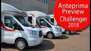 Anteprime Camper 2018: Challenger - Motorhome preview 2018: Challenger