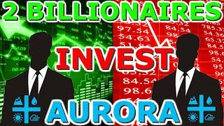 Two Billionaires Invest In Aurora Cannabis - ACB Technical Analysis + Stock News 2019
