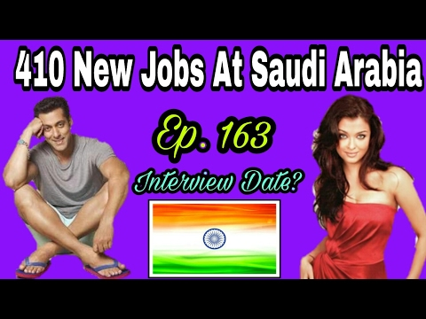 410 New Jobs At Saudi Arabia, With Good Salary And Interview Date soon, Tips In Hindi, Episode. 163