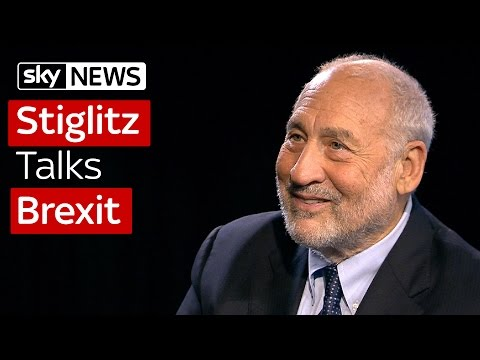Professor Joseph Stiglitz Talks Brexit - YouTube