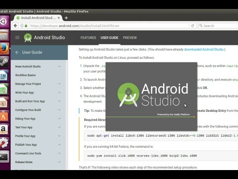 Install Android Studio on Ubuntu 16.04